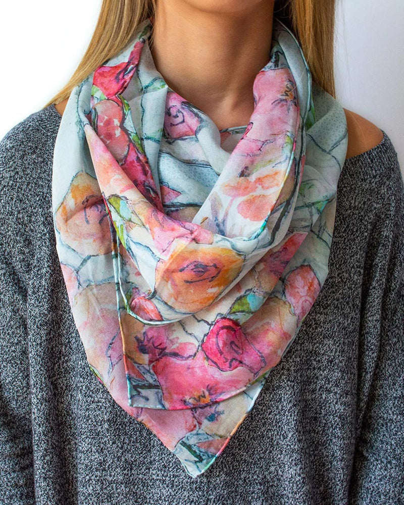 Holly Scarf Silk Scarf