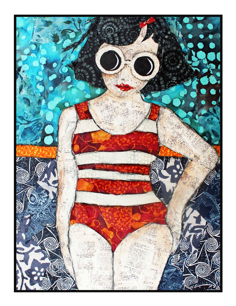 "Pool Girl Too - Original - NOT ""Sold Out""  See below."