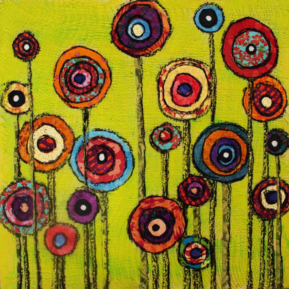 Poppies on Gallery Wrap Canvas