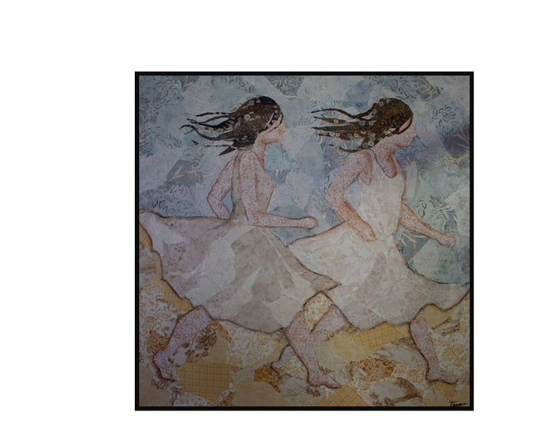 Racing the Wind White Dresses - Original