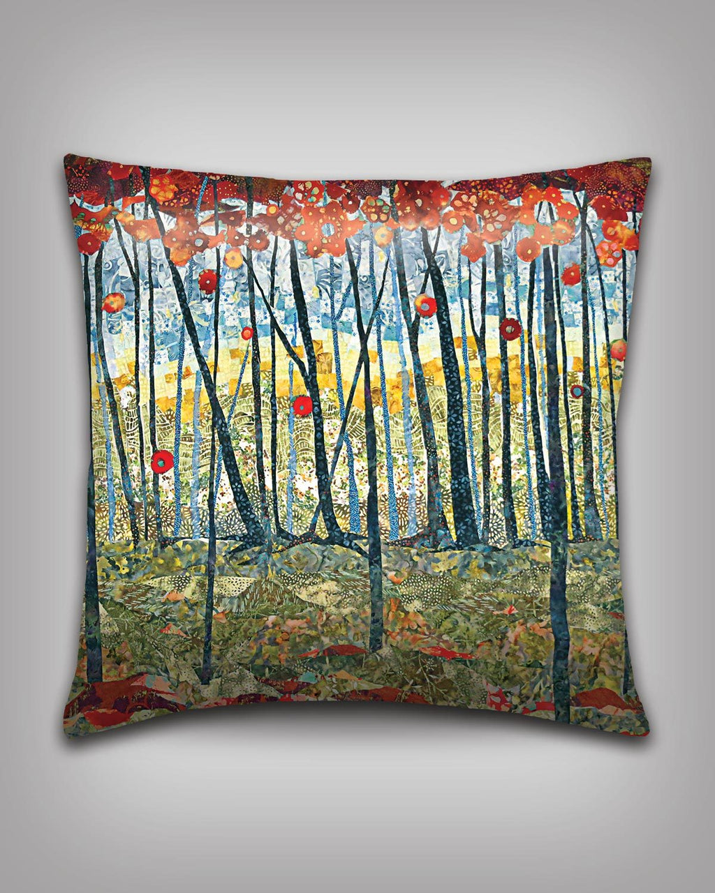 Red Forest Pillow