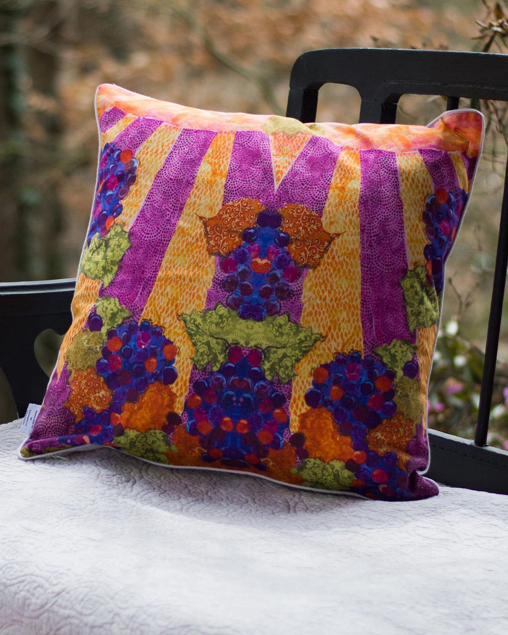 Red Grape Pillow