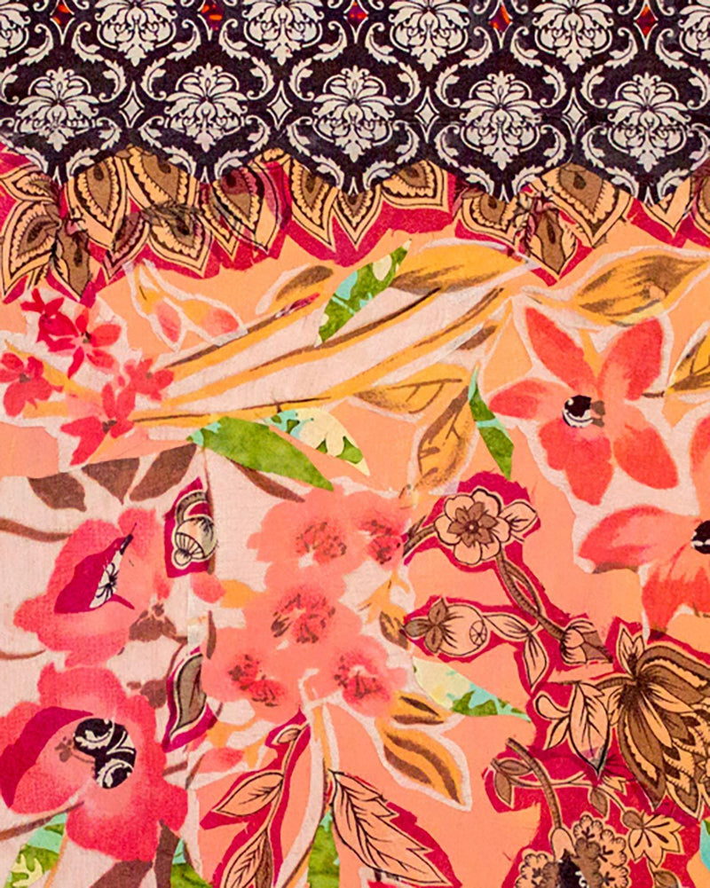 Spring Time Silk Scarf
