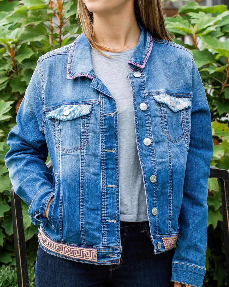 Village OOAK Oversized Denim Jacket - Medium