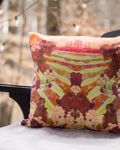 Floral Still Life Pillow