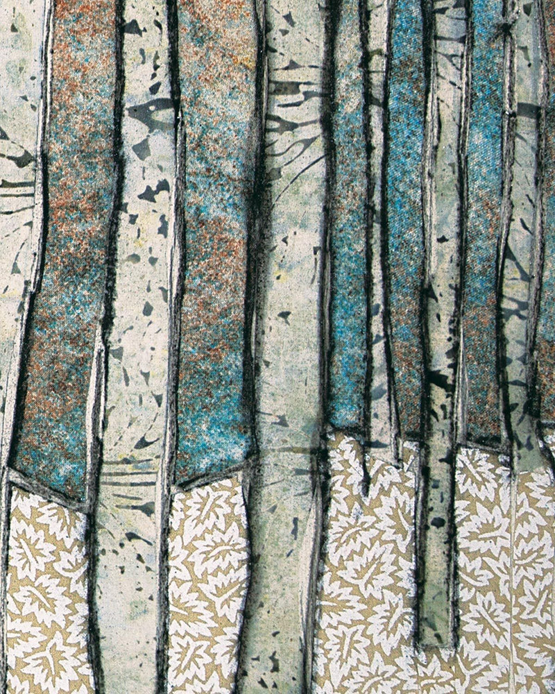 Winter Birches Pillow