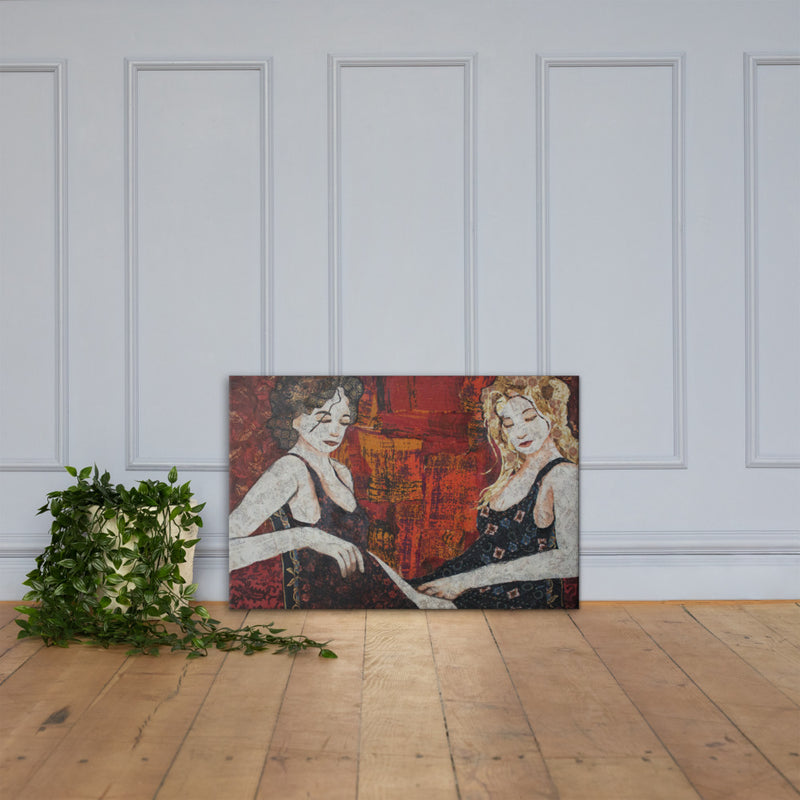 Sisters on Gallery Wrap Canvas
