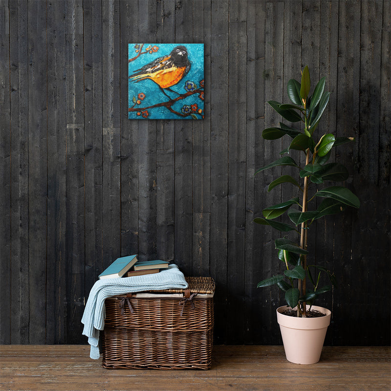 Robin on Gallery Wrap Canvas