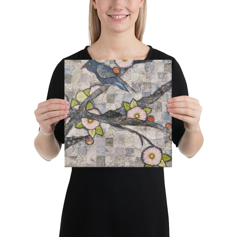 Grey Birds on Gallery Wrap Canvas
