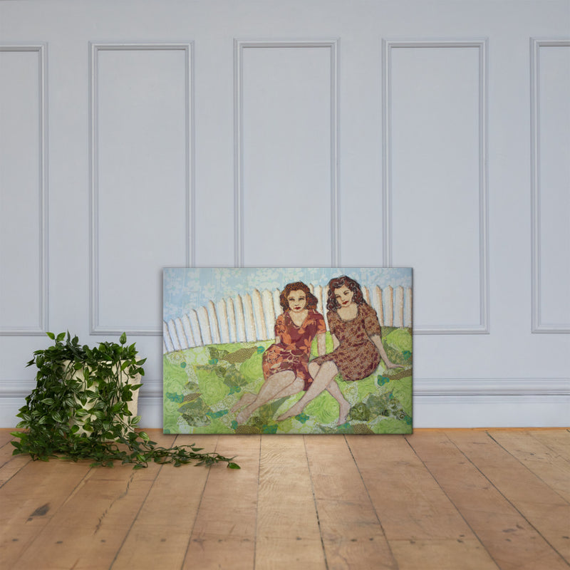The Way We Were on Gallery Wrap Canvas