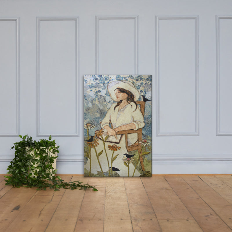 In The Garden on Gallery Wrap Canvas