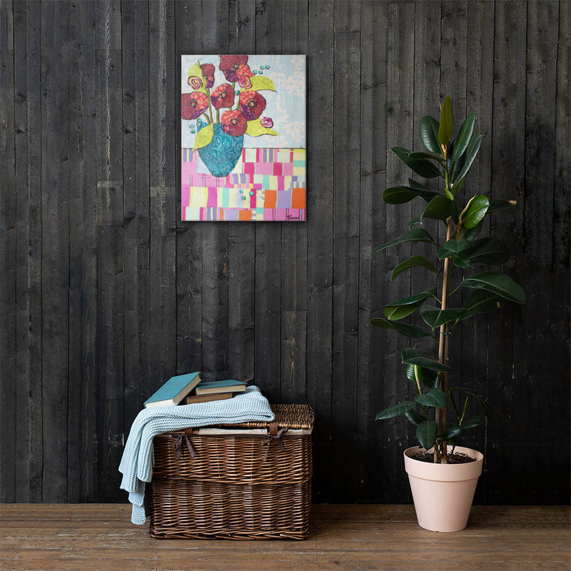 Tropical Still Life 2 on Gallery Wrap Canvas