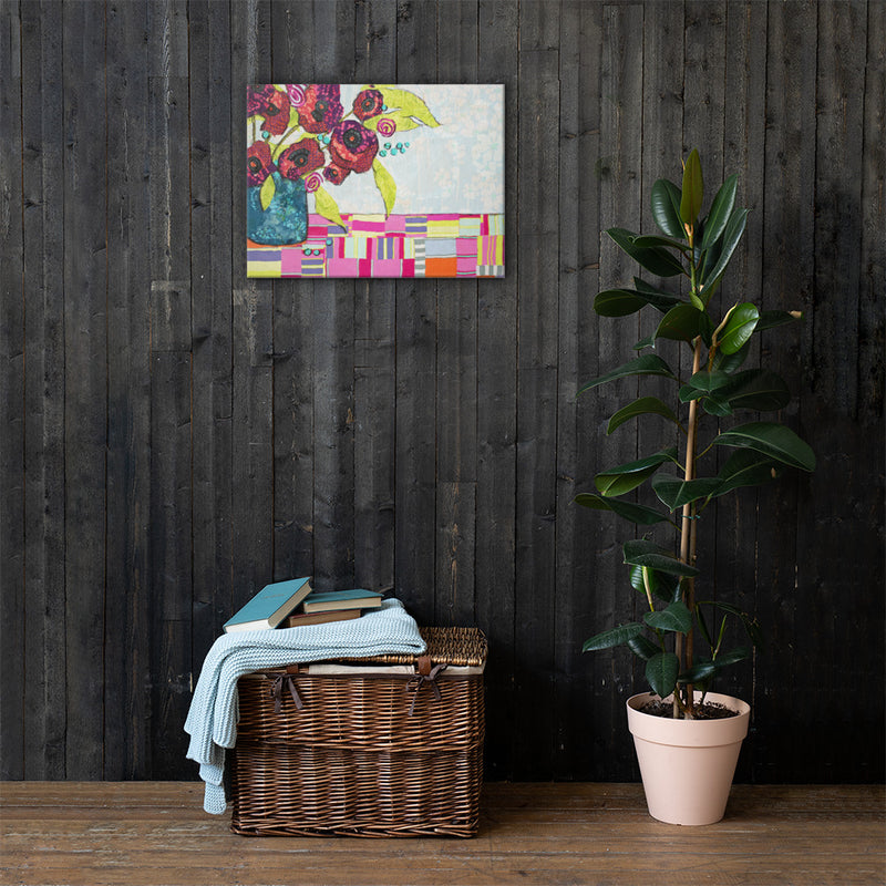 Tropical Still Life on Gallery Wrap Canvas