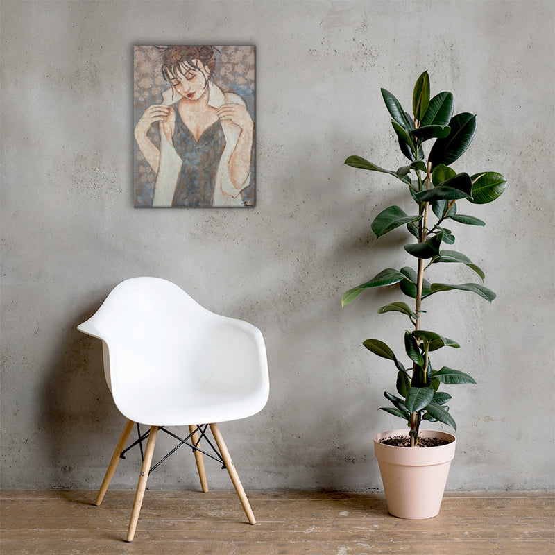 Contemplation on Gallery Wrap Canvas