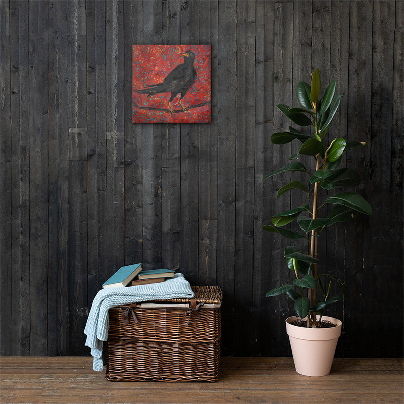 The Crow on Gallery Wrap Canvas