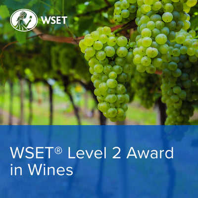 WSET Level 2 Online: The Course (12/6, 19/6, 24/6, 26/6, 29/6, 1/7 & 3/7) Evenings