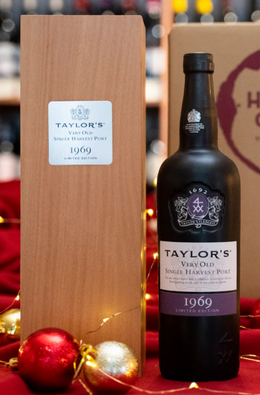 "Taylor's Single Harvest Port, 1969, ""Limited Edition"" in Wooden Box, Porto, Portugal"
