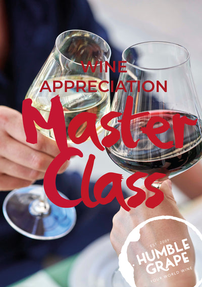 Wine Appreciation Masterclass with Humble Grape Canary Wharf 14 Dec.