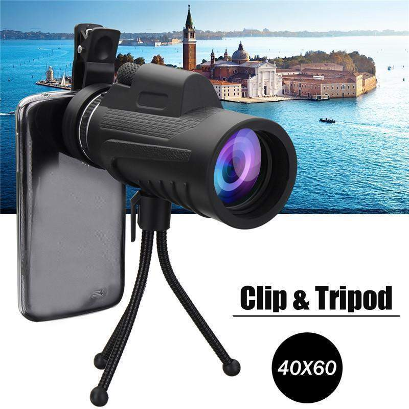 40X Optical Zoom Telephoto Lens with Tri-pod