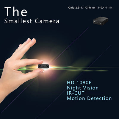 HD Micro Smallest Spy Video Camera