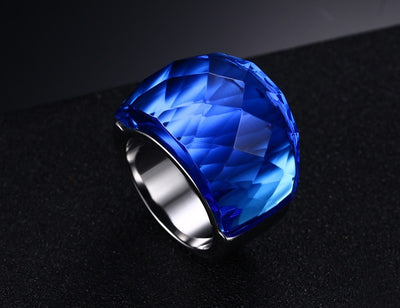 Crystal Stone Ring