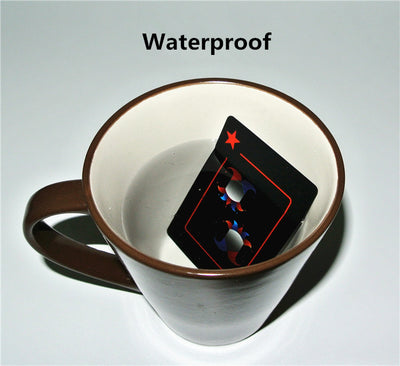 WATERPROOF PLAYING CARDS + ALUMINUM CASE