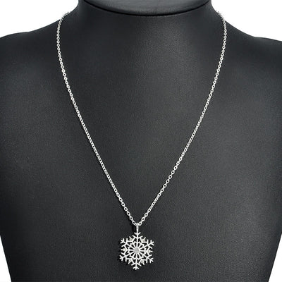 The Snowflake Crystal Necklace