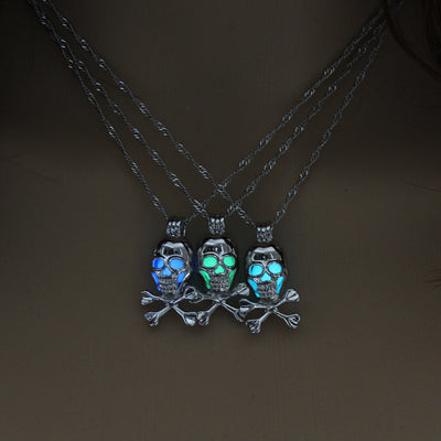 Skull Glow Necklace