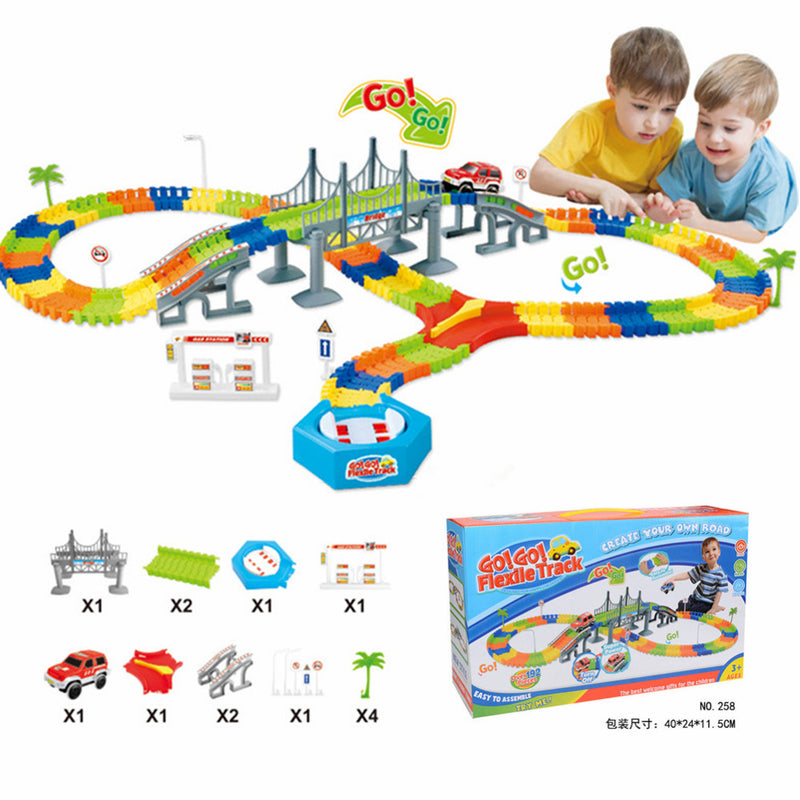 MIRACULOUS GLOWING RACE CAR PLAY SET (165 pieces, 1 CAR)