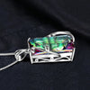 Rainbow Topaz Necklace 16ct *925 Sterling Silver