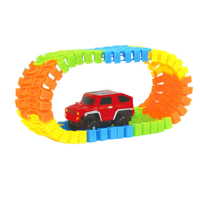 MIRACULOUS GLOWING RACE CAR PLAY SET (100 PIECES, 1 CAR)