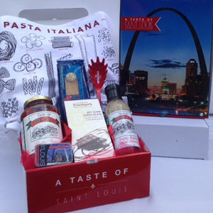 A Taste of The Hill Pasta Gift Mailer Box