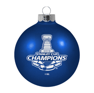 Saint Louis Blues Stanley Cup Ornament  Large Glass Ball