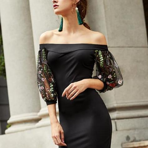 Addison - Floral Pencil Dress