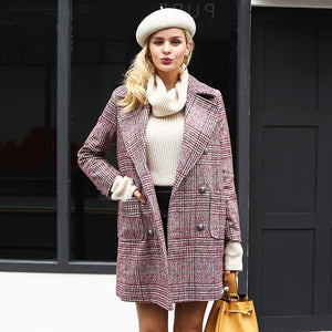 Audrey - Double Breasted Coat