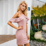Emma - Ruffle Bodycon Dress