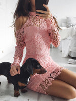 Rose - Floral Lace Dress