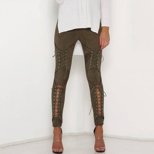Serenity - Lace Up Bandage Pants