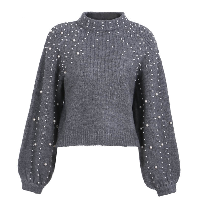 Daisy - Knitted Pearly Sweater
