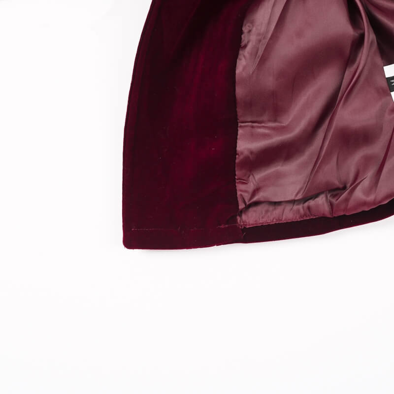 Ruby - Velvet Rocker Jacket