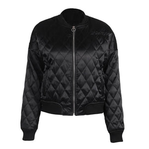 Sophia - Quilted Bomber Jacket