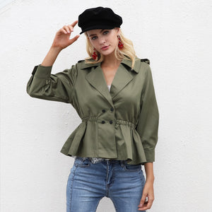 Georgia - Casual Short Trench