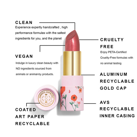 Sabreen Cosmetics Sustainable Packaging