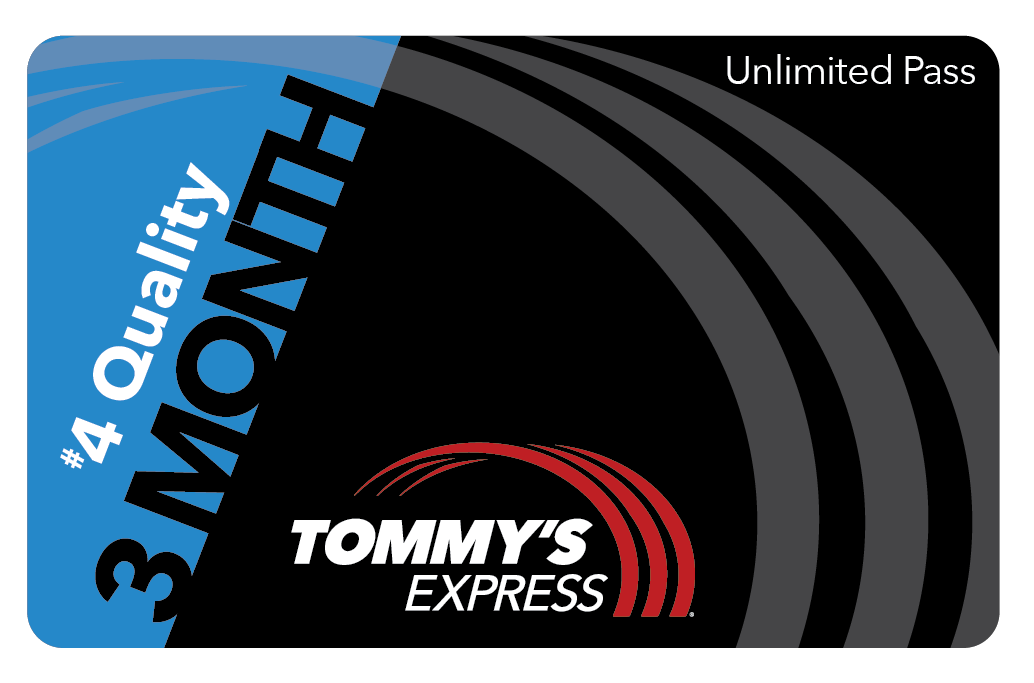 tommys express 3 month quality card
