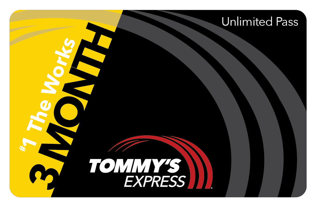 tommys express 3 month works card