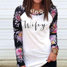 Flower Wifey Long Sleeve Shirt - Bliss Ever After