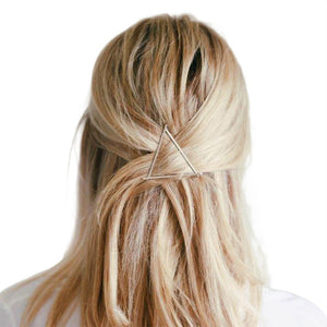 Dainty Geometric Hair Clip - Bliss Ever After