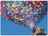 A Home Lifted Away By Balloons - LOVIELO