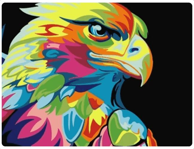 Multicolor Eagle - LOVIELO