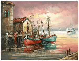 A Harbor At Night - LOVIELO